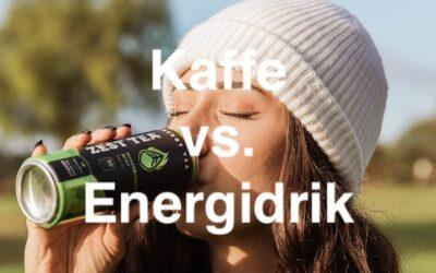 Er kaffe sundere end energidrik?